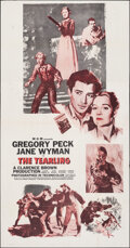 """Movie Posters:Drama, The Yearling (MGM, R-1956). Folded, Very Fine. Three Sheet (41"""" X 78.5""""). Drama.. ..."""