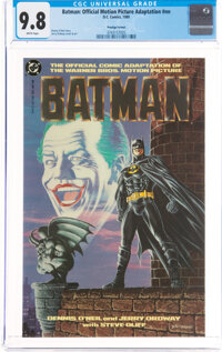Batman: Official Motion Picture Adaptation #nn (DC, 1989) CGC NM/MT 9.8 White pages