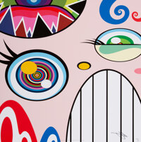 Takashi Murakami (b. 1962) We Are the Square Jocular Clan (set of 10), 2018 Offset lithographs in co