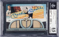 Baseball Cards:Singles (1970-Now), 2009 Topps Triple Threads Mickey Mantle (Cut Above) #2 BGS NM-MT+ 8.5, Auto 10 - #'d 1/1....