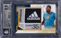 Basketball Cards:Singles (1980-Now), 2013-14 Immaculate Collection Kevin Durant (Christmas Day Materials Jumbo Tags) #6 BGS NM-MT+ 8.5 - #'d 1/2....