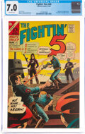 Silver Age (1956-1969):Superhero, The Fightin' 5 #40 (Charlton, 1966) CGC FN/VF 7.0 Off-white pages....