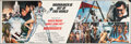 """Movie Posters:James Bond, Moonraker (United Artists, 1979). Rolled, Overall: Very Fine. Banner Set of 4 (20"""" X 60"""") Dan Goozee Artwork. James Bond.. ... (Total: 4 Items)"""