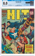 Golden Age (1938-1955):Superhero, Hit Comics #18 (Quality, 1941) CGC VF 8.0 Cream to off-white pages....