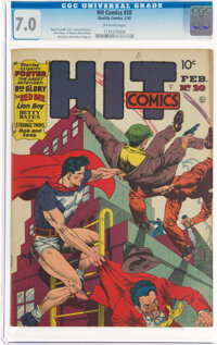 Hit Comics #20 (Quality, 1942) CGC FN/VF 7.0 Off-white pages