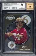Football Cards:Singles (1970-Now), 2000 Playoff Contenders Tom Brady/Marc Bulger (Round Numbers Autographs) #RN11 - BGS Mint 9 - Auto 9. ...