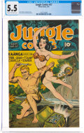 Golden Age (1938-1955):Adventure, Jungle Comics #57 (Fiction House, 1944) CGC FN- 5.5 Cream to off-white pages....