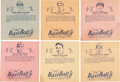 Baseball Cards:Lots, 1936 R301 Overland Candy Baseball Wrappers Collection (20) With Grove. ...
