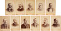 Baseball Collectibles:Photos, 1891 Conly Cabinet Photos - Boston Reds American Association Collection (11)....
