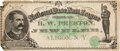 Baseball Collectibles:Others, 1887 Chicago White Stockings Baseball Currency....