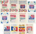 Baseball Cards:Lots, 1933-1941 Goudey Baseball Wrappers Collection (22). ...
