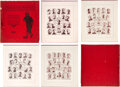 Baseball Cards:Other, 1907 W601 Sporting Life Composite Photograph Portfolio with All 16 Teams. ...