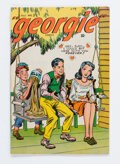 Golden Age (1938-1955):Humor, Georgie Comics #3 (Timely, 1945) Condition: VG/FN....