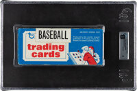 1975 Topps Baseball 500-Count Vending Box - Brett and Yount Rookie Year!