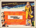 """Movie Posters:Mystery, Lured (United Artists, 1947). Folded, Very Fine-. Half Sheet (22"""" X 28"""") Style B. Mystery. Alternative Title: Personal Col..."""