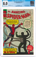 Silver Age (1956-1969):Superhero, The Amazing Spider-Man #3 (Marvel, 1963) CGC VF 8.0 Off-white to white pages....
