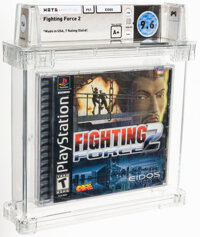 Fighting Force 2 - Wata 9.6 A+ Sealed [Sony Security Label], PS1 Eidos 1999 USA
