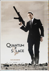 """Quantum of Solace (MGM, 2008). Rolled, Near Mint. Printer's Proof One Sheet (28"""" X 41"""") DS Advance. James Bond..."""