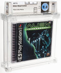 Video Games:Playstation, Alien: Resurrection - Wata 9.8 A++ Sealed [Sony Security Label], PS1 Fox 2000 USA. ...