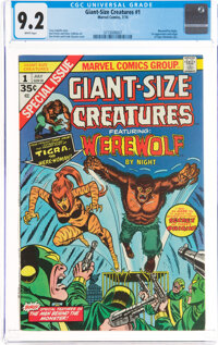 Giant-Size Creatures #1 (Marvel, 1974) CGC NM- 9.2 White pages