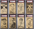 "Baseball Cards:Sets, 1936-37 R314 Goudey ""Wide Pen"" Premiums (Type 5) Complete Set (39). ..."