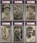 "Baseball Cards:Sets, 1936 R314 Goudey ""Wide Pen"" Premiums (Type 2) Near Set (20/24). ..."