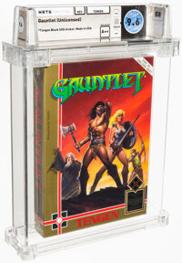 Gauntlet (Unlicensed) - Wata 9.6 A++ Sealed [Tengen Black SOQ], NES Tengen 1988 USA