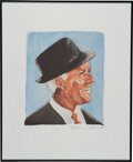 """Music Memorabilia:Autographs and Signed Items, Tony Bennett Signed """"Frank Sinatra"""" Limited Print...."""