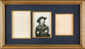 Militaria:Ephemera, George Armstrong Custer: Congratulatory Message to the Troops After the Surrender at Appomattox Courthouse....