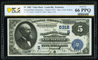 Louisville, KY - $5 1882 Date Back Fr. 537 The National Bank of Kentucky Ch. # (S)5312 PCGS Banknote Ge