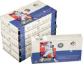 Football Cards:Unopened Packs/Display Boxes, 2000 Upper Deck SP Authentic Football Unopened Hobby Box Lot Of 6 - Tom Brady Rookie Year! ...