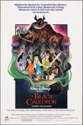 """Movie Posters:Animation, The Black Cauldron (Buena Vista, 1985). Rolled, Fine/Very Fine. One Sheet (27"""" X 41"""") SS, Paul Wenzel Artwork. Animation.. ..."""