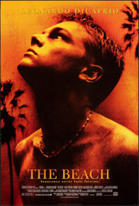"""The Beach (20th Century Fox, 2000). Rolled, Very Fine. One Sheet (27"""" X 40"""") DS. Adventure"""