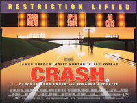 "Crash & Other Lot (Columbia Tristar, 1996). Rolled, Overall: Very Fine. British Quads (2) (30"" X 40""). Thr..."