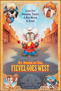 "An American Tail: Fievel Goes West & Other Lot (Universal, 1991). Rolled, Very Fine+. One Sheets (2) (26.75"" X..."