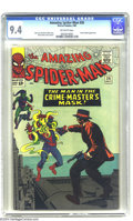 Silver Age (1956-1969):Superhero, The Amazing Spider-Man #26 (Marvel, 1965) CGC NM 9.4 Off-whitepages. CGC has assigned only one grade higher than the one ea...