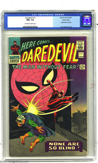 Daredevil #17 Pacific Coast pedigree (Marvel, 1966) CGC NM+ 9.6 Off-white to white pages. The first time John Romita Sr...
