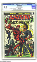 Bronze Age (1970-1979):Superhero, Daredevil #97 (Marvel, 1973) CGC NM/MT 9.8 Off-white to white pages. Gil Kane cover. Gene Colan and Ernie Chan art. This is ...