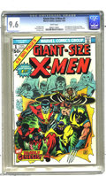 Bronze Age (1970-1979):Superhero, Giant-Size X-Men #1 (Marvel, 1975) CGC NM+ 9.6 White pages. A virtually flawless example of the first appearance of the new ...