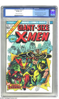 Bronze Age (1970-1979):Superhero, Giant-Size X-Men #1 (Marvel, 1975) CGC VF/NM 9.0 Cream to off-white pages. This landmark issue introduced the new X-Men, who...