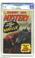 Silver Age (1956-1969):Horror, Journey into Mystery #69 Bethlehem pedigree (Marvel, 1961) CGCVF/NM 9.0 Off-white pages. A mansion in the middle of nowhere...