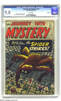 """Silver Age (1956-1969):Mystery, Journey into Mystery #73 Bethlehem pedigree (Marvel, 1961) CGCVF/NM 9.0 White pages. Overstreet calls this issue a """"reverse..."""