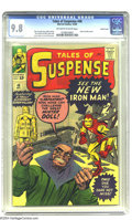 Silver Age (1956-1969):Superhero, Tales of Suspense #48 Pacific Coast pedigree (Marvel, 1963) CGCNM/MT 9.8 Off-white to white pages. If this pulse-poundingly...