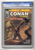 Bronze Age (1970-1979):Miscellaneous, Savage Sword of Conan #5 (Marvel, 1975) CGC NM/MT 9.8 Off-white towhite pages. Boris Vallejo cover. John Buscema art. Jeff ...