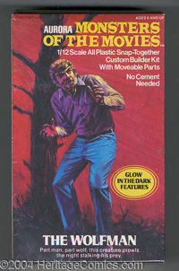 "Wolfman Model Kit (Aurora, 1975). Introducing one of the more sought-after entries from Aurora's ""Monsters of the M..."