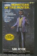 "Mr. Hyde Model Kit (Aurora, 1975). This snap-together model was part of Aurora's ""Monsters of the Movies"" seri..."