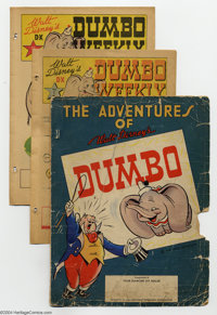Dumbo Weekly Complete Set (Walt Disney Productions, 1942). Here's a real find for any collector of Disney giveaway comic...
