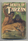 Books, Edgar Rice Burroughs - The Beasts of Tarzan (A. L. Burt, 1916-27). This is a nice hardback copy of Edgar Rice Burroughs' thi...
