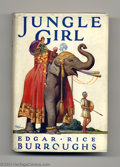 Books, Edgar Rice Burroughs - Jungle Girl Group (Odhams Press, 1933). Thislot is for two copies of Jungle Girl; a tale of adve... (Total: 2items Item)