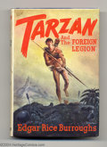 Books:First Editions, Tarzan and the Foreign Legion by Edgar Rice Burroughs - 1st Edition(Edgar Rice Burroughs, Inc., 1947) Condition: FN. This e...